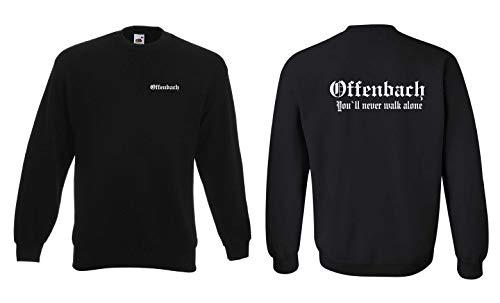 world-of-shirt Offenbach Ultras Sweatshirt Herren S-XXL