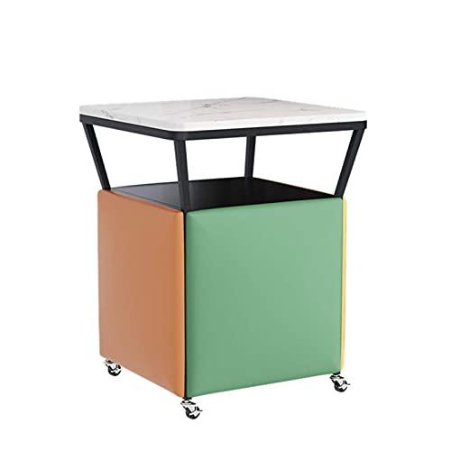 Asientos multifuncionales, 5 en 1 Silla de sofá apilable Taburete Cube Taburete...