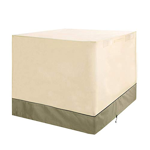 SETSCZY Funda Protectora para Muebles de jardín Funda Muebles Exterior Impermeable Anti-UV Protección Cubierta de Muebles de Mesas Oxford,420D(91 * 91 * 91cm