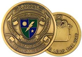 HMC US Army Ranger 1st Ranger Battalion Challenge Coin