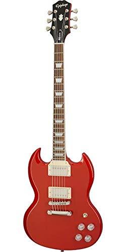 Epiphone SG Muse Scarlet Rojo Metálico Guitarra Eléctrica