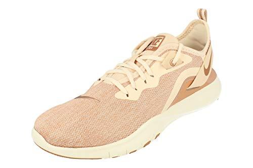 Nike Wmns Flex Trainer 9 Prem, Zapatillas de Deporte para Mujer, Multicolor (Guava Ice/Mtlc Red Bronze/Rose Gold/Sail 000), 38 EU