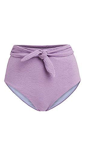 Mara Hoffman Women's Jay Bikini Bottoms, Lavender, Purple, X-Small