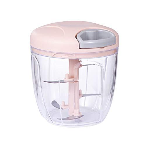 yinyinpu Knoblauch Pressen Knoblauchschneider Küche Utensilien Küche Gadgets Und Werkzeuge Knoblauch Pink,Large