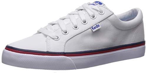 Keds Women's Jump Kick Sneaker, White, 5