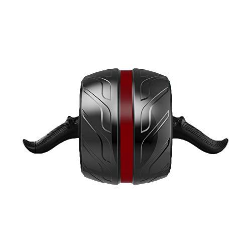 Arkmiido Rullo AB per Fitness, Auto-retrattile AB Carver Pro, ruota da Allenamento AB con ginocchiera. (Wheel Roller)