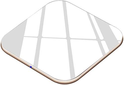 Wireless Charger 15W Handy Schnellladegerät [USB C, Ultradünn] Qi Ladestation für iPhone X/XS/XR/XS Max/11/11 Pro/Max/8/8P/AirPods2/pro, Induktions Ladegerät 10W für Galaxy S10/S9/S8/Note10/9/8 usw