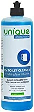 Unique RV Toilet Bowl Cleaner and Holding Tank Enhancer Liquid 24 Ounce - Removes Stains and Odors in All RV Toilet Bowls - 41F-1