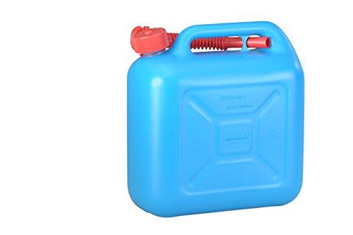 Preisvergleich Produktbild hünersdorff 812893 Kraftstoff-Kanister 10l STANDARD 10l für Benzin,  Diesel und andere Gefahrgüter,  UN-Zulassung,  made in Germany,  TÜV-geprüfter Produktion,  blau