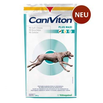 Vetoquinol Caniviton Plus Maxi, Option:90 Chews