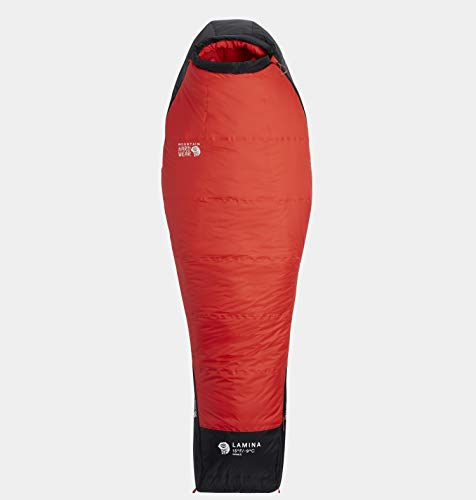 Mountain Hardwear Lamina Sleeping Bag -9°C Long Damen Poppy red Ausführung Right Zipper 2020 Schlafsack