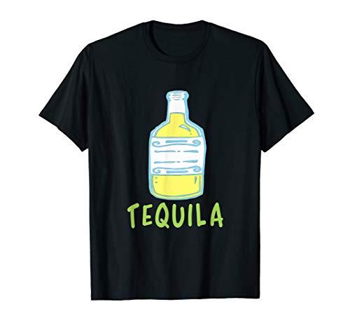 Tequila-Kalk-zusammenpassendes Paar-Halloween-Kostüm T-Shirt