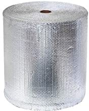 Double Bubble Reflective Insulation (250 sq ft roll | 24-inch X 125-feet) Vapor Barrier Bubble Insulation for Metal Building, Pole Barn, Basement, Crawlspace & More by RadiantGUARD