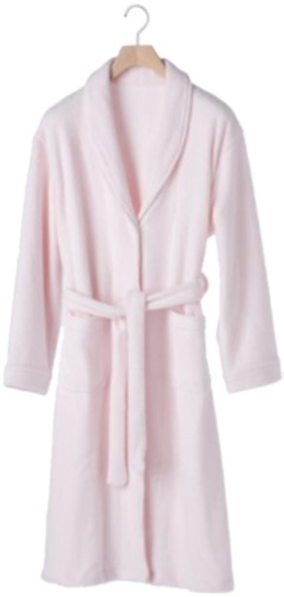 巻き取り宗教的な自動化竹スタイル バスローブ婦人用 ピンク フリーサイズ