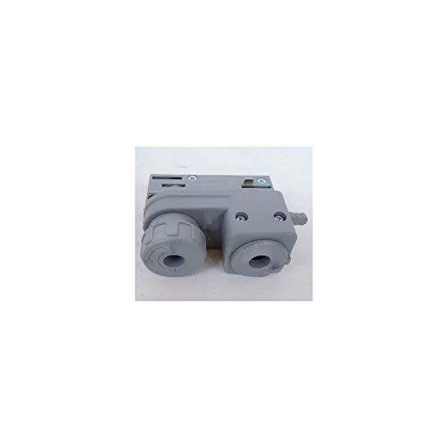 IVela 7601-00-W20 elektromechanischer Adapter grau für Schiene