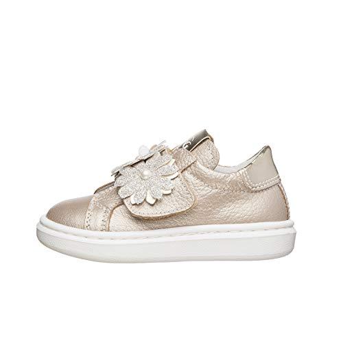 NeroGiardini E021310F Sneaker Kids Bambina Pelle/Tela - Nut 20 EU