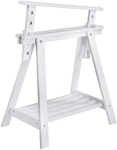 ASTIGARRAGA CAB005.58 Color Blanco Caballete - Caballetes y Accesorios (Color Blanco, Madera, 700 mm, 400 mm, 985 mm)