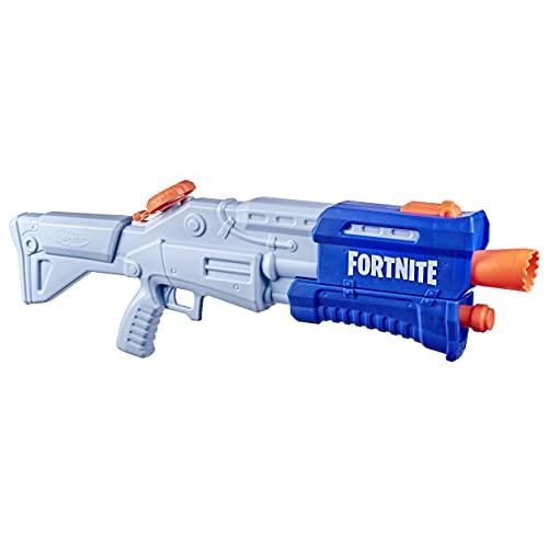 Nerf Fortnite TS-R Nerf Super Soaker Water Blaster Giocattolo ad azione a pompa, 36 Once Fluido o 1 Litro, per Bambini, Adulti