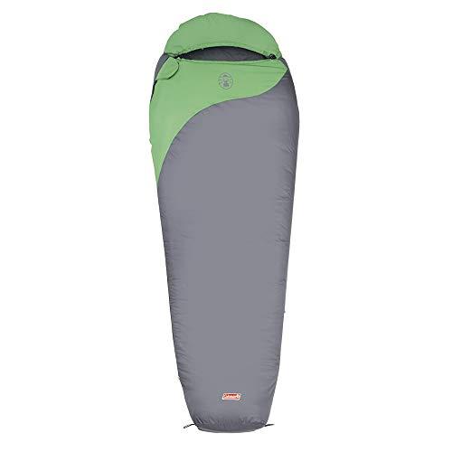 Coleman Schlafsack Biker, grau/grün, 220 x 80/55 cm, 2000009574