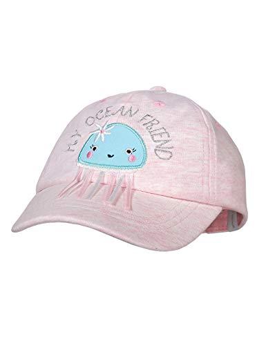maximo Baby-Mädchen Cap Kappe, Rosa (Zartrosa/Blue Tint 3022), (Herstellergröße: 47/49)