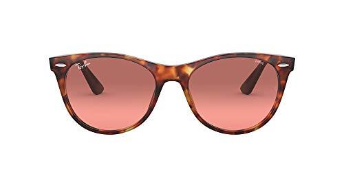 Ray-Ban Unisex 0RB2185 zonnebril, bruin (rood Havana), 55.0