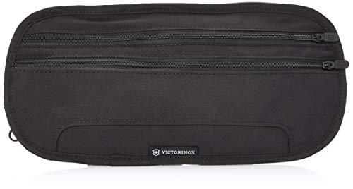Victorinox Accesorios 4.0 Deluxe Oculto Cinturón RFID Protección, Talla Única, Logotipo Negro y Negro. (Negro) - 311718