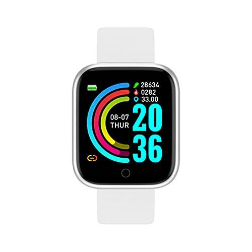 zyz Y68 Smart Watch Sports Fitness Tracker, Presión Arterial Y Monitor De Frecuencia Cardíaca, Impermeable, Bluetooth Smart Pulsera,A