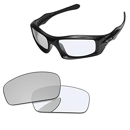 PapaViva Lentes de repuesto para Oakley Monster Pup, Pro+ Eclipse fotocromático, Talla única