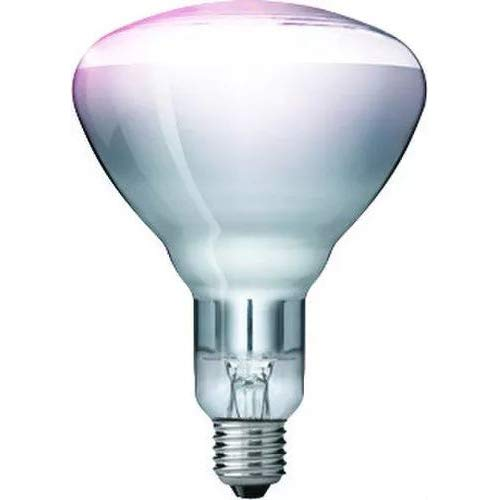 "Kerbl 22316 Hartglaslampe ""Philips"", 250 W / 240 V, klar"