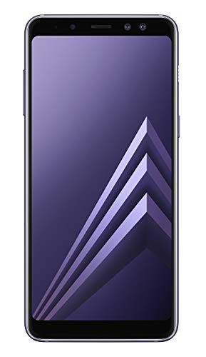 Samsung Galaxy A8 2018 Single-SIM 32GB SM-A530F (GSM Only, No CDMA) Factory Unlocked 4G Smartphone (Orchid Grey) - International Version (Renewed)