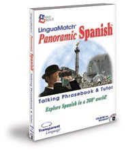 LinguaMatch Panoramic Spanish Talking PhraseBook & Language Tutor