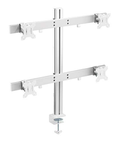 TechOrbits Quad Monitor Stand - Four Scr...