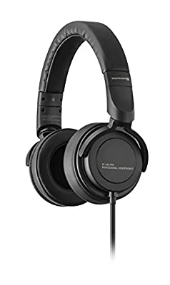 Beyerdynamic DT 240 PRO Over-Ear Studio Headphones in Black Closed Design Wired Plugable Cable