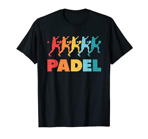 Jugador de pádel Deportistas Aficionados Pista Entrenamiento Camiseta