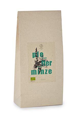 Bio Pfefferminz Tee   Graspapierverpackung   getrocknete Pfefferminze für Tee   besonders mild und natürlich ohne zusätzliche Aromen (750g)