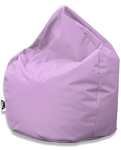 PH Patchhome Sitzsack Tropfenform - Flieder für In & Outdoor XL 300 Liter - mit Styropor Füllung in 25 versch. Farben und 3 Größen