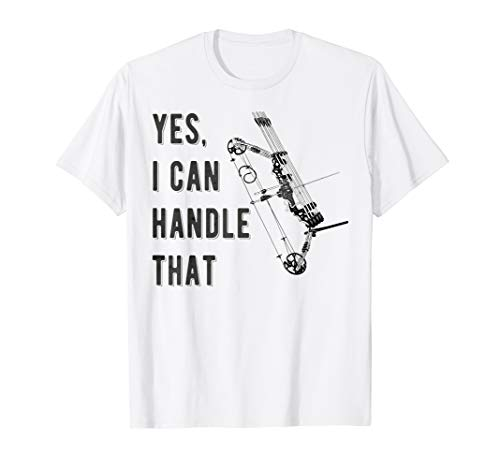 Bogenschießen, Bogensport, Pfeil Bogen, Vintage Retro Design T-Shirt