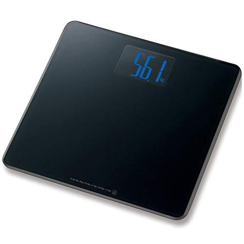QARYYQ Báscula de Peso Báscula electrónica del hogar Báscula de Salud El Peso Puede medirse 400 kg Escala electrónica