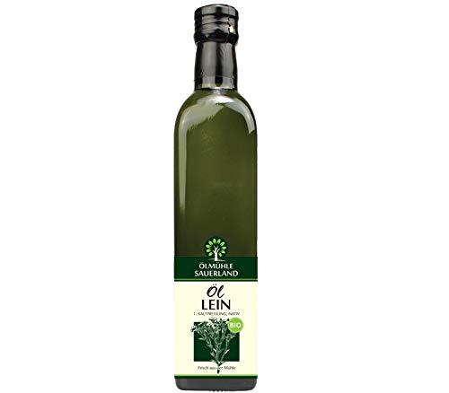 ÖLMÜHLE SAUERLAND - Leinöl Bio nativ kaltgepresst (500 ml)