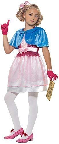 Meisjes Officiële Veruca Zout Roald Dahl Willy Wonka Wereld Boek Dag Week TV Film Fancy Kleding Kostuum Outfit, 7-9 Jaren