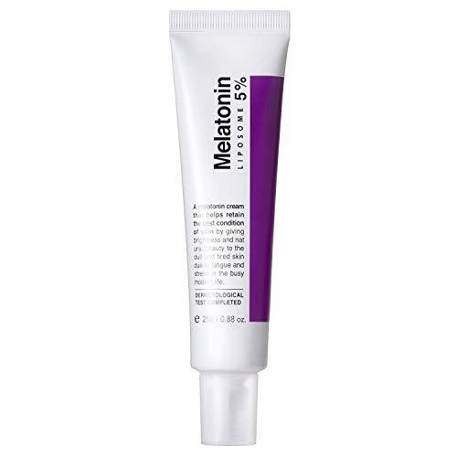 MAXCLINIC Time Return Melatonin Cream 25g 0.9oz Crema Melatonia de noche para mujeres reafirmante reparadora facial