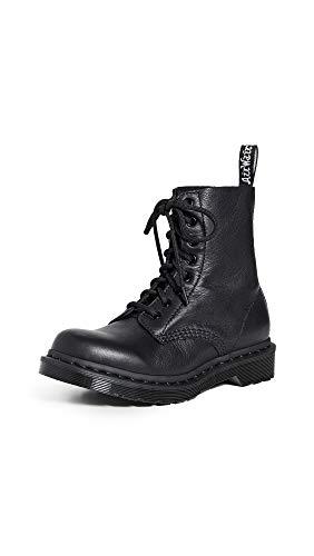 Dr. Martens 1460 Mono Virginia Boots Black, Numero di Scarpe:38 EU
