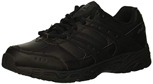 Avia Women's Avi-Verge Sneaker, Jet Black/Castle Rock, 8 Medium US