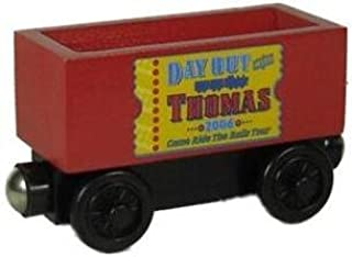 Day Out with Thomas Cargo Car - Thomas & Friends Wooden Railway Tank Train Engine - Brand New Loose
