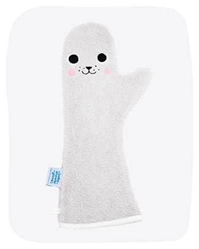 Douchen met baby shower glove zegel