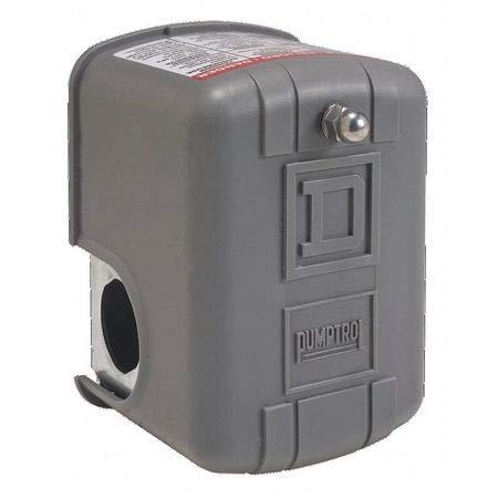 Pumptrol Pressure Switch, DPST, 20/40 psi, 1/4