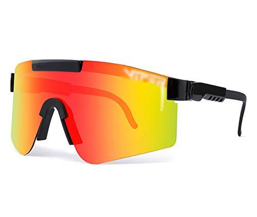 ZHMIAO Ciclismo Bicicleta Gafas protección protección Ciclismo polarizado Pesca de manejo Gafas de Sol Deportes Deportes Montando al Aire Libre Gafas Red