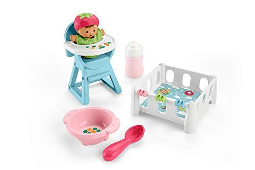 Fisher Price - Little People Bebe Siesta y Comidita (Mattel GKP65)