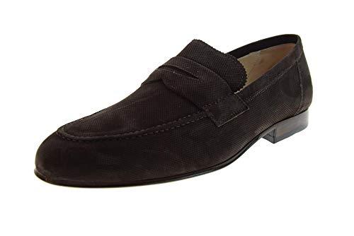 105 NERO GIARDINI Mens Shoes Moccasins P900885U