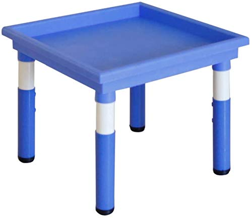 Tables et chaises Multi-Function Toy Table réglable en Hauteur, Particules assemblées Puzzle Game Table, Sable Table, Jardin d'enfants, Classe Early Education, Meubles/Vert / 1Table for Enfants